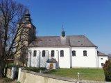 Fotografie kostela z venku