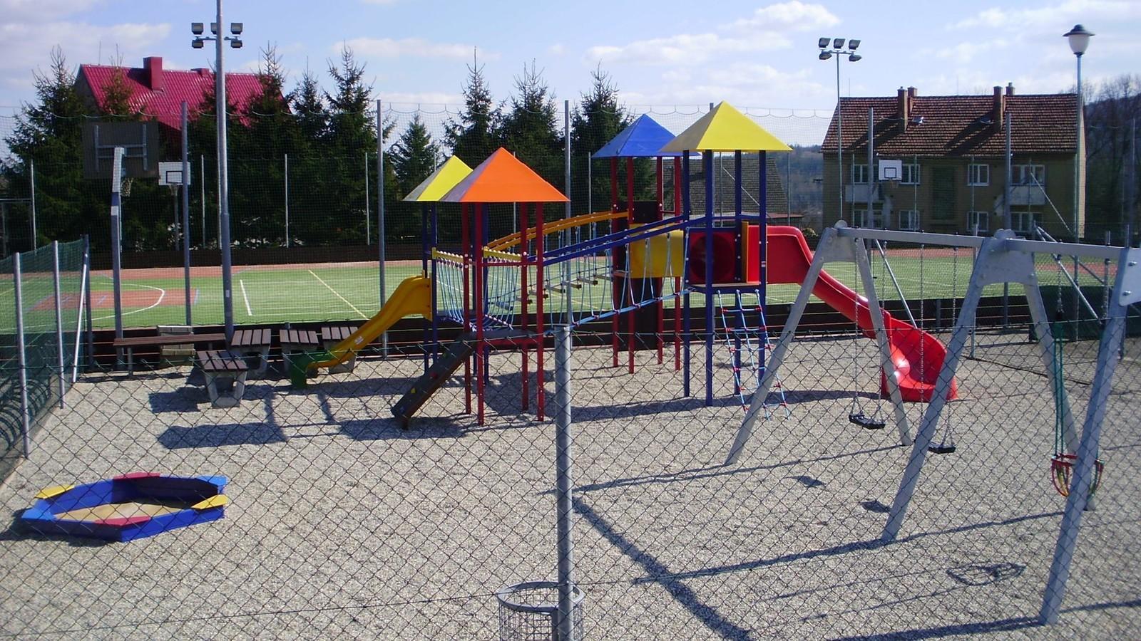 Hřiště na sportovním areálu