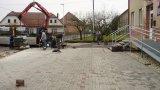 2017 vybudování parkoviště před OÚ