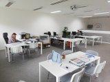 2020 provizorní kancelář ve školící místnosti