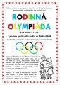 Rodinná olympiáda 21.6.2020